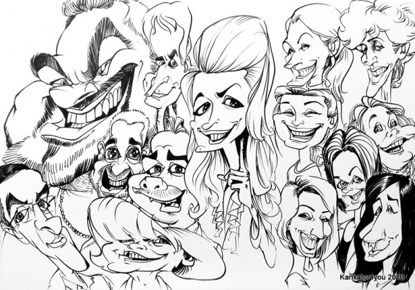 Karikatur, Marker, A1