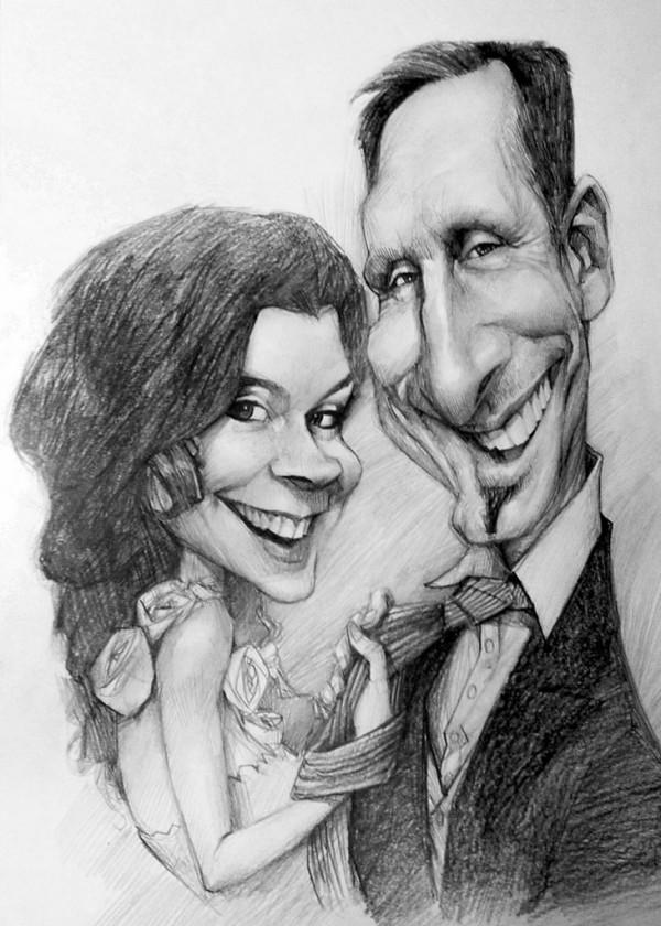 Karikatur Bleistift, A3